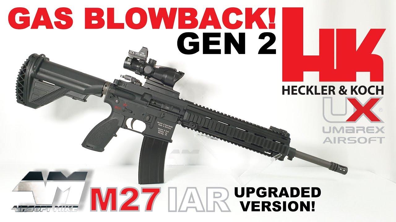 UMAREX HK M27 IAR GAZ BLOWBACK GEN 2 / VFC améliorée H & K M27 GBBR