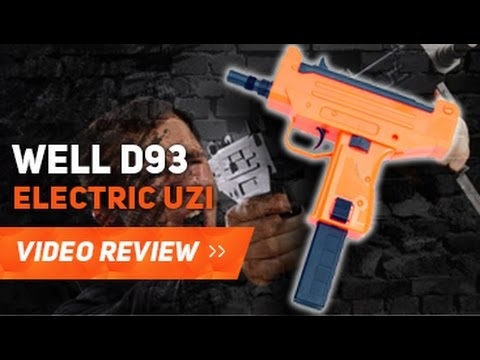 WELL D93 UZI PISTOL AIRSOFT BB REVISION