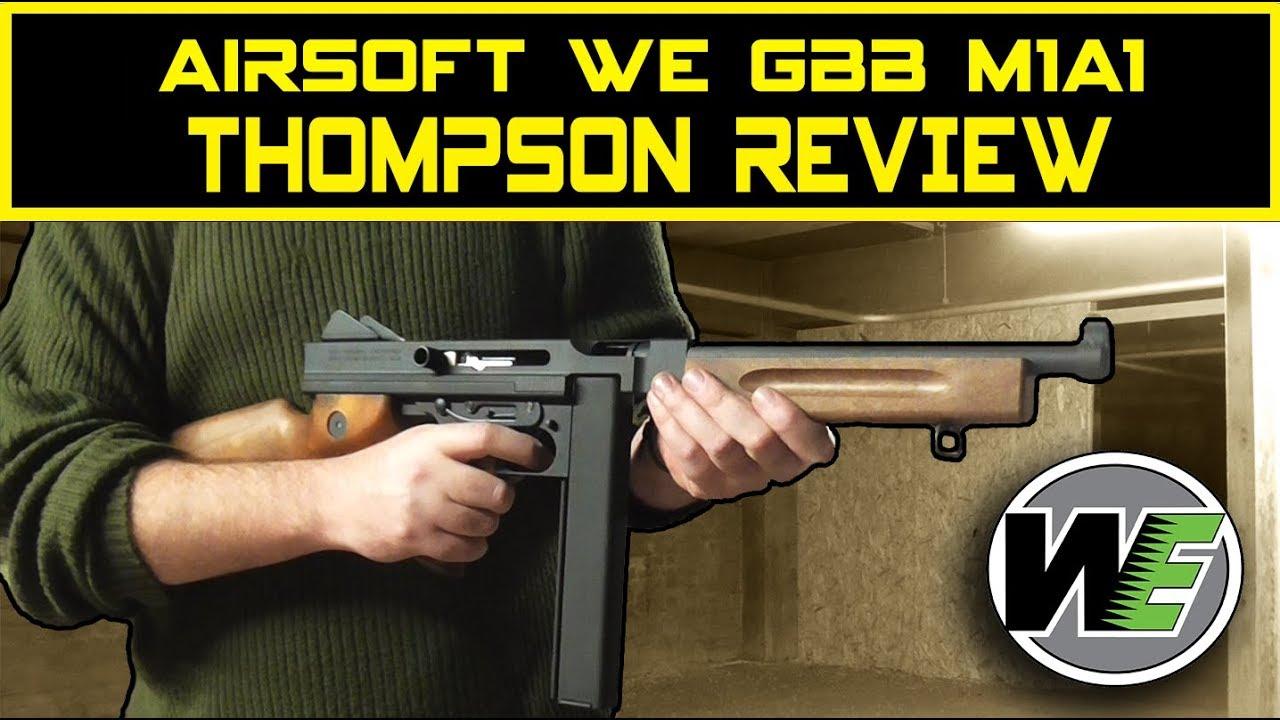 Test de Cybergun Airsoft Thompson M1A1 GBBR