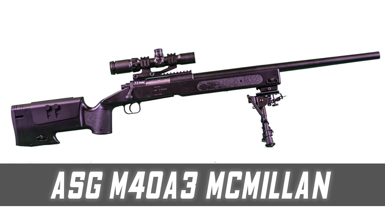 ASG M40A3 McMillan Sniper Rifle – Cheap Airsoft Commentaires
