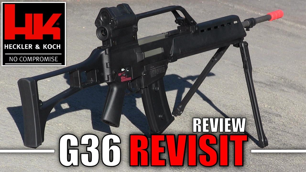 Ares – Revue de la carabine U36 G36 Airsoft | USAirsoft