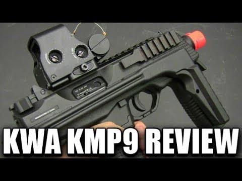 KWA KMP9 Revue de Blowback de gaz – Un des plus grands pistolets d'airsoft