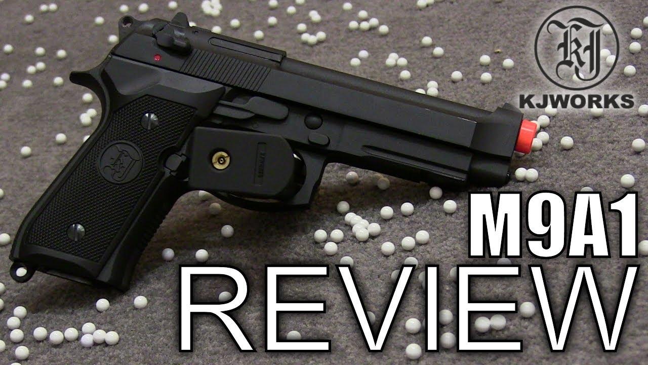 Test du pistolet KJW M9 Airsoft
