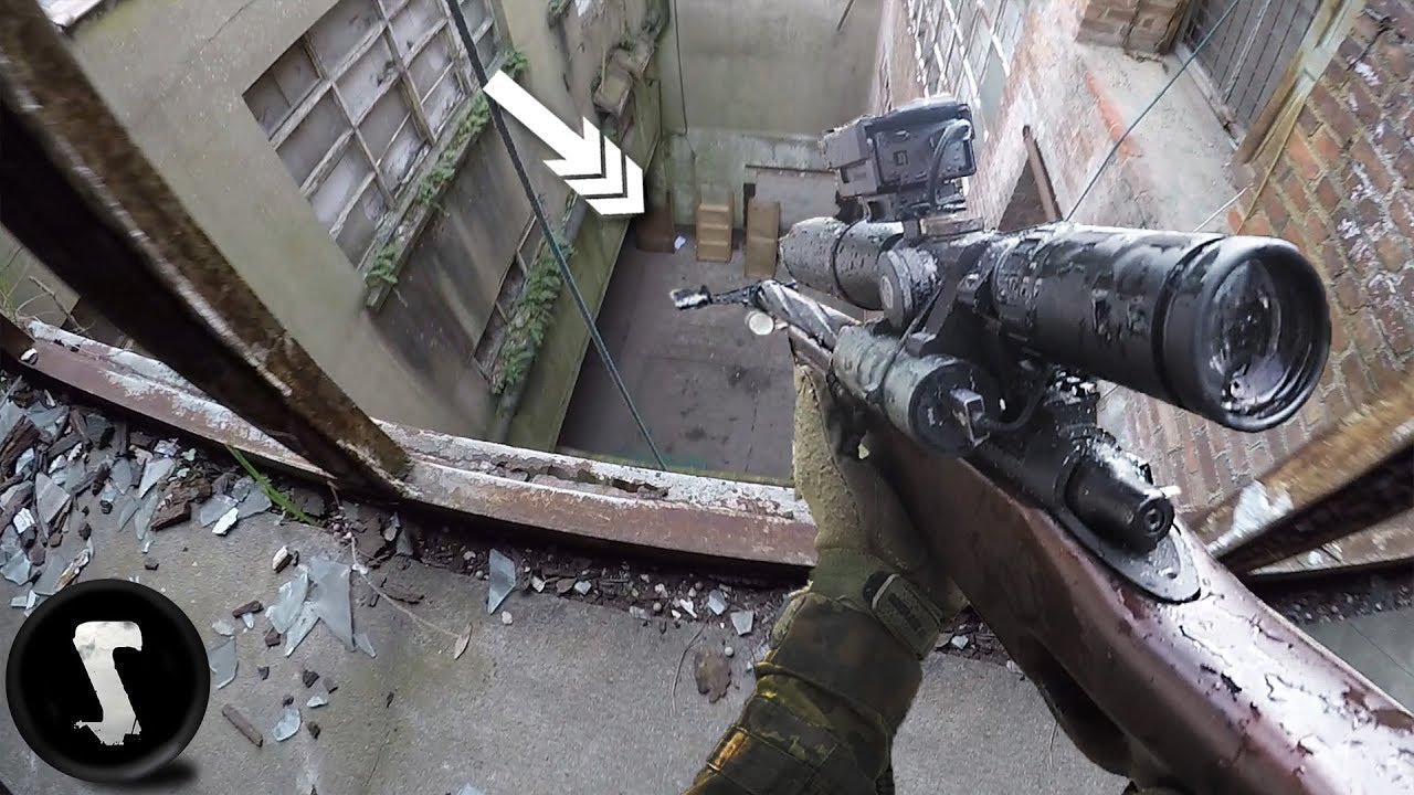 Assaut Factory Sniper Mission – OVERPOWERED Airsoft L96