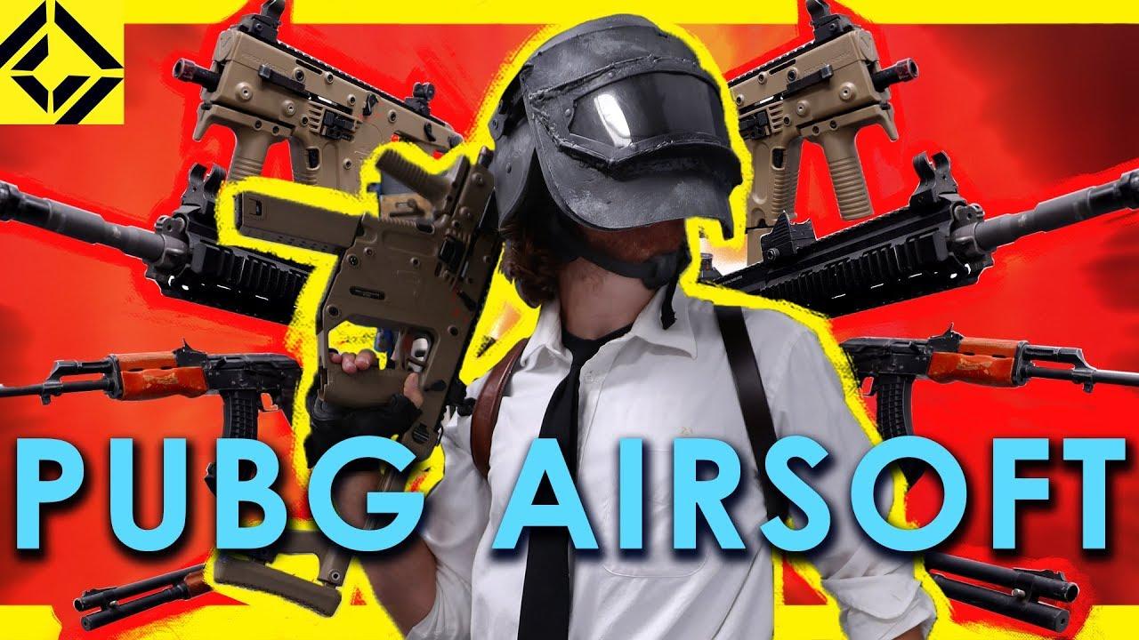 TOUS les pistolets PUBG pour AIRSOFT!