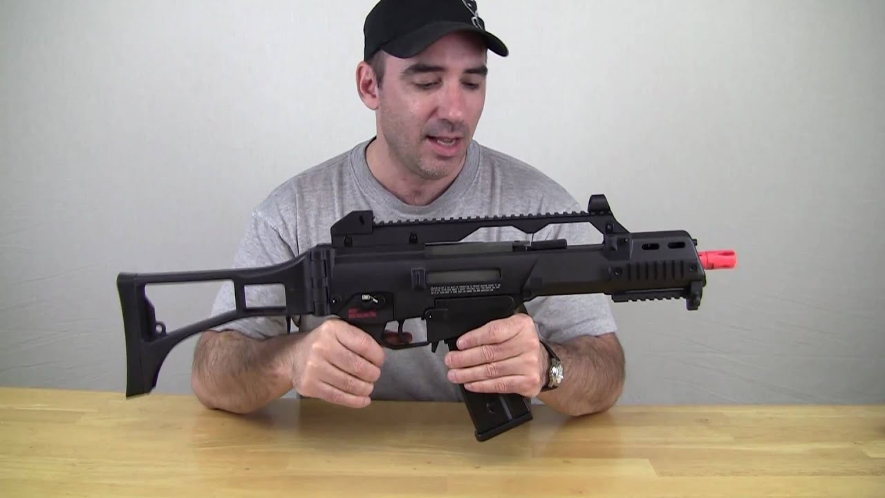 H & K G36c par Umarex Airsoft Review