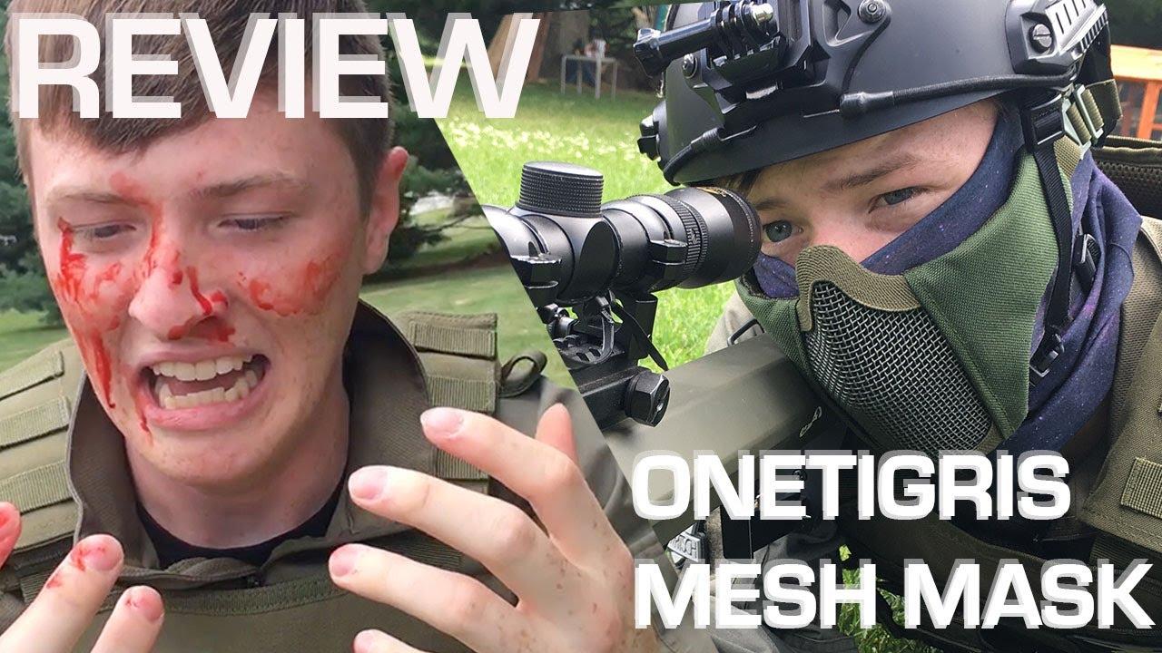 Examen du masque maillé OneTigris // Callsign: Reach Airsoft Gear