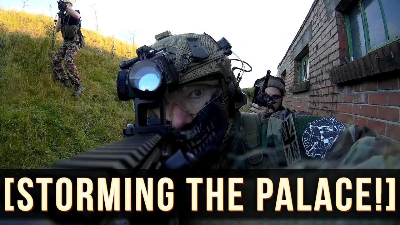 Nous avons tué tous les gardes et tempéré le palais! | AIRSOFT UK