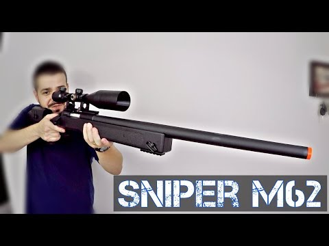 RIFLE SNIPER M62 DOBLE EAGLE   Airsoft Review   FBAIRSOFT