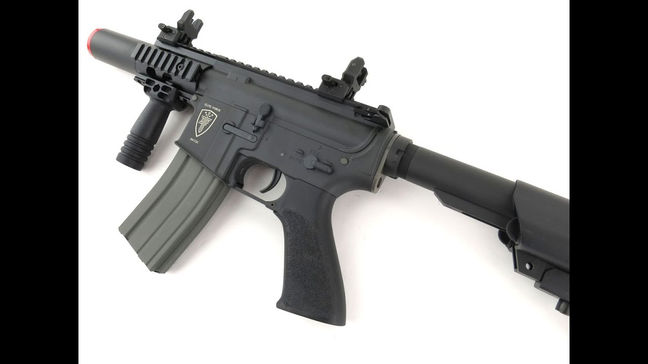 Elite Force M4 CQC Next Gen [Airsoft Review]