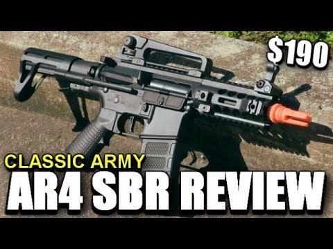 Un petit Airsoft M4 pour CQB – Classic AR4 Review – Il faut plus de travail.