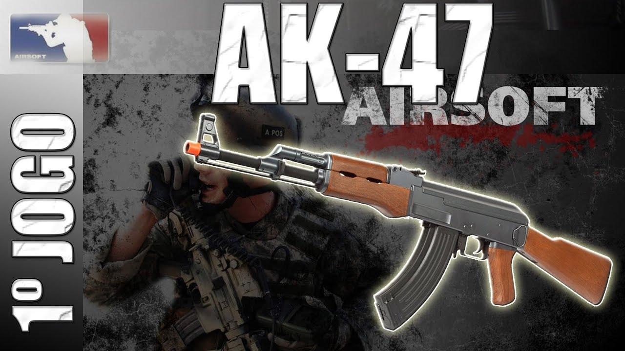 Airsoft: AK47 King Arms Review (Jeu 1)