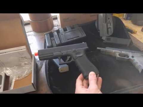 Examen de la Elite Force Glock 17 (Airsoft.) Un excellent outil de formation USPSA.