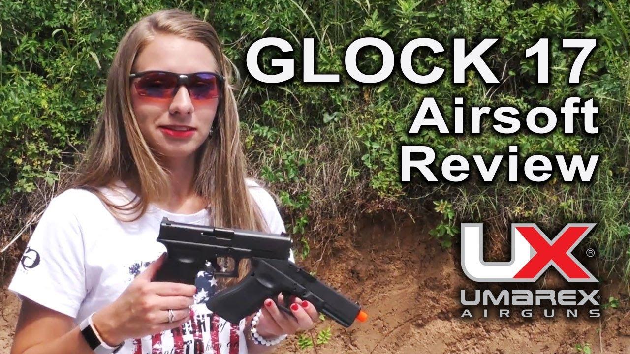 Pistolet-mitrailleur GLOCK 17 à gaz à pompe Airsoft BB: Examen des armes à air comprimé Umarex