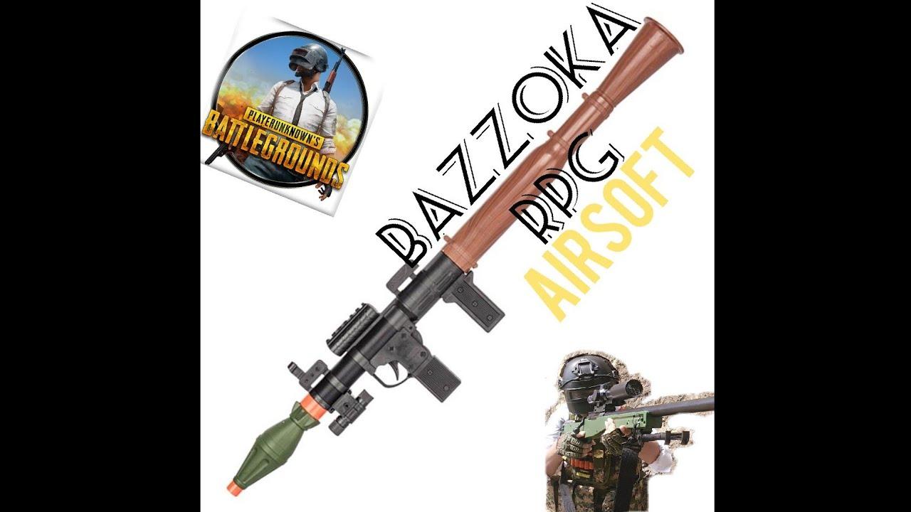REVUE DU JEU AIRSOFT BAZZOKA RPG