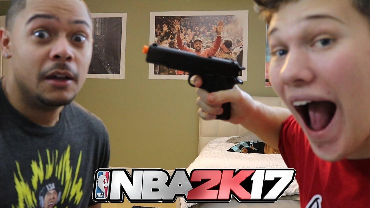 FUSIL À AIR COMPRIMÉ! NBA 2K17
