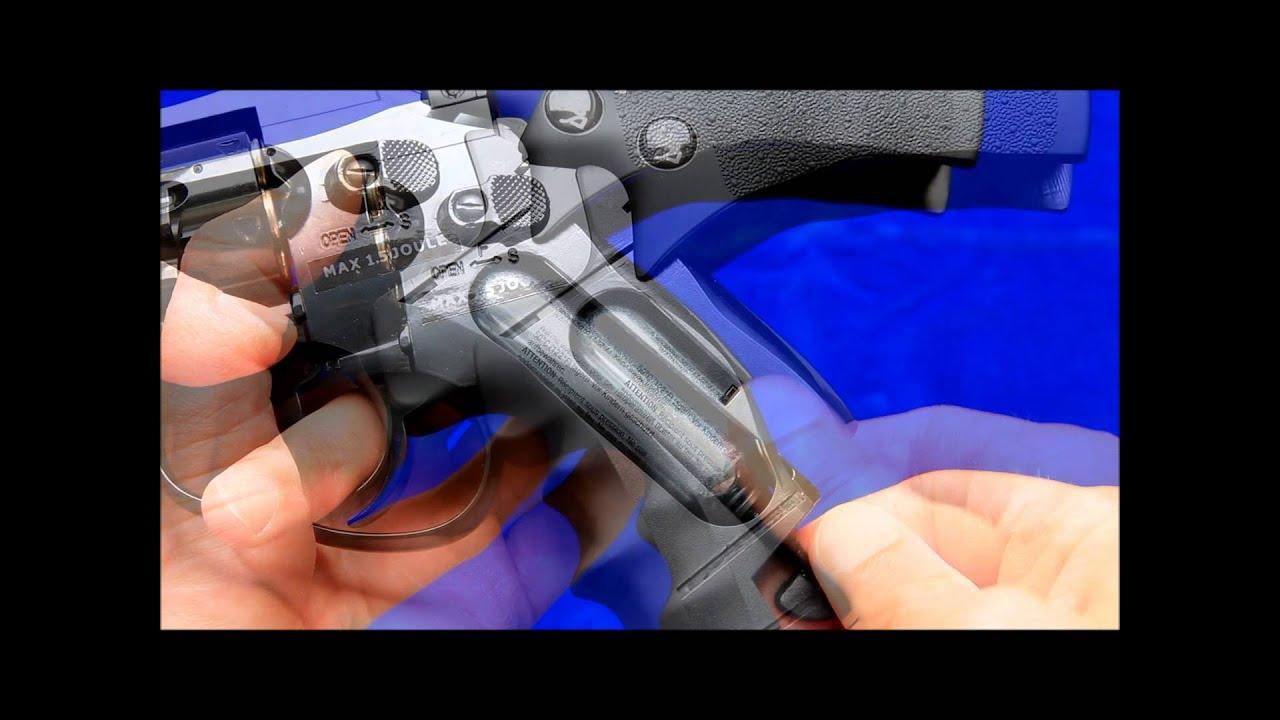 ASG Dan Wesson revolver airsoft CO2 noir 2,5 pouces Avis