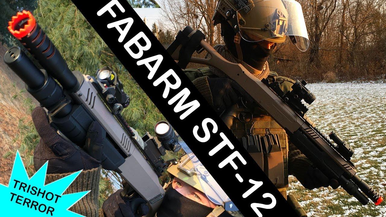 Airsoft FABARM STF-12 (ITA12) Review // Un fusil de chasse à trois coups abordable de Rainbow 6: Siege