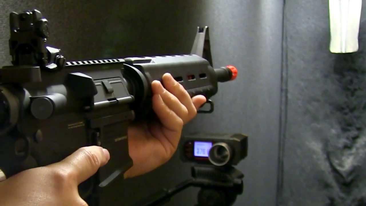 KWA RM4 ERG | Pistolet de recul électrique | Airsoft Gun Review et Chrono | Fox Airsoft
