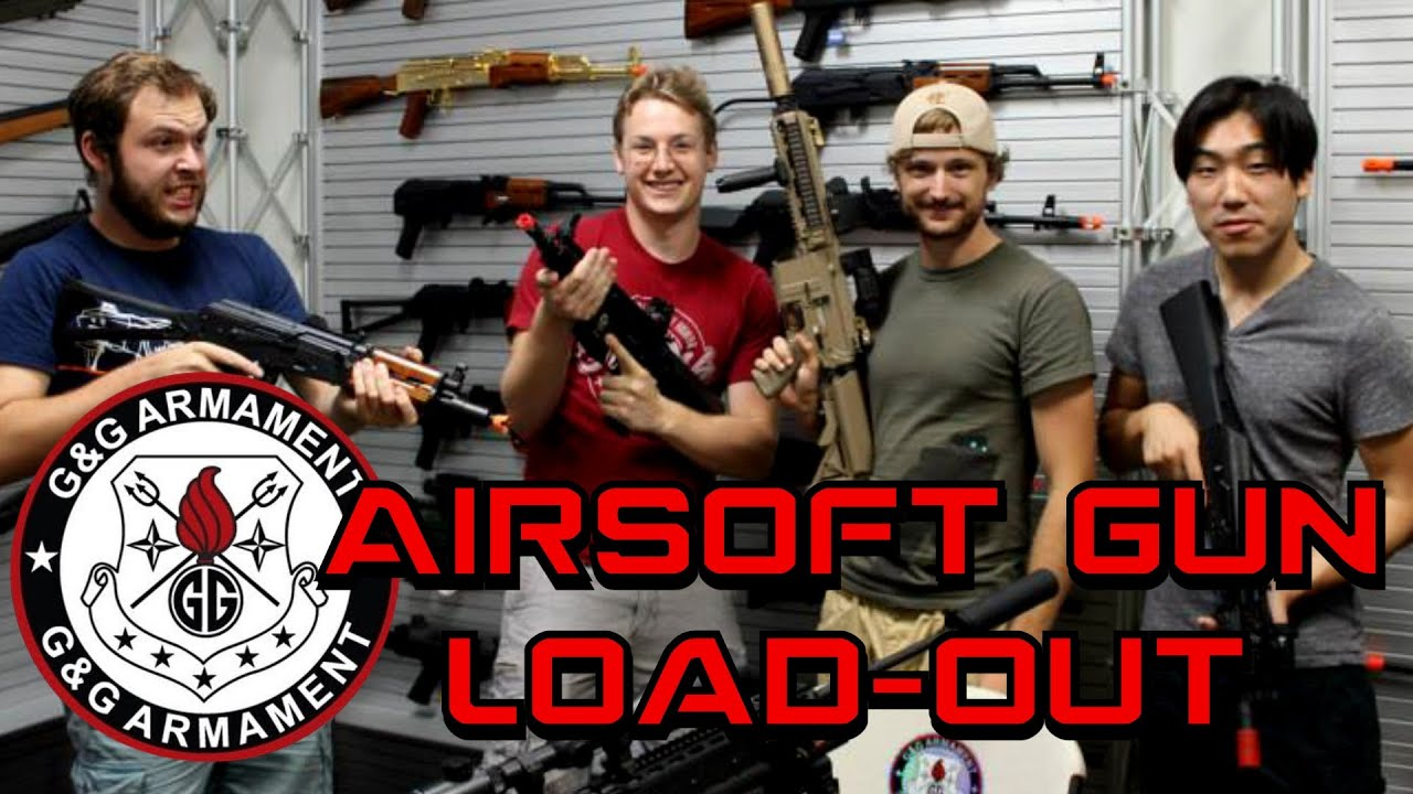 Airsoft Gun Loadout G & G