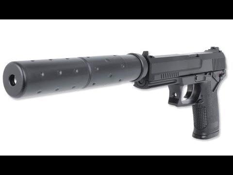 AVIS AIRSOFT – Unbox et chronographe de pistolet HK MK23 socom STTI