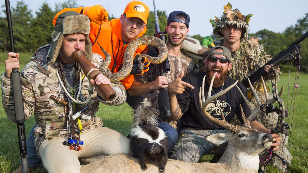Stéréotypes de chasse
