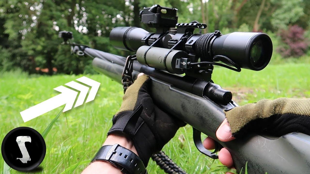 Ce pistolet airsoft effraie le sh * t des joueurs