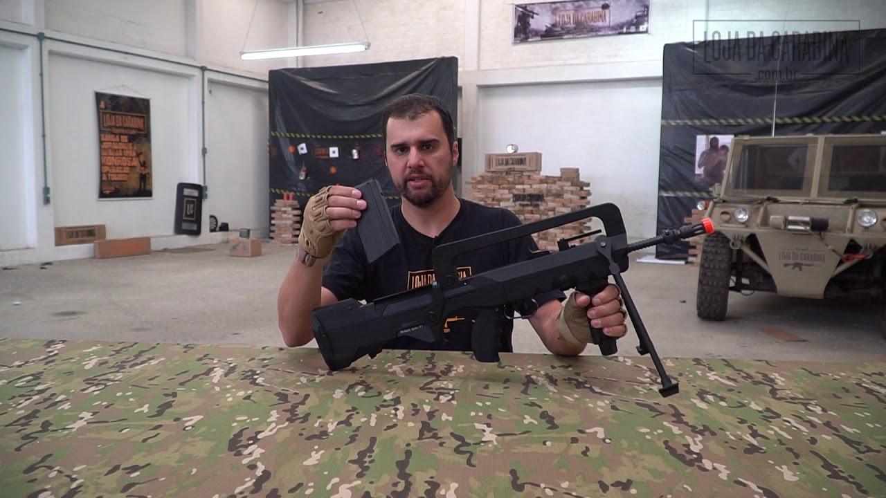 FAMAS F1 Airsoft Carabine – 6mm – Cybergun – La critique de Rifle Shop