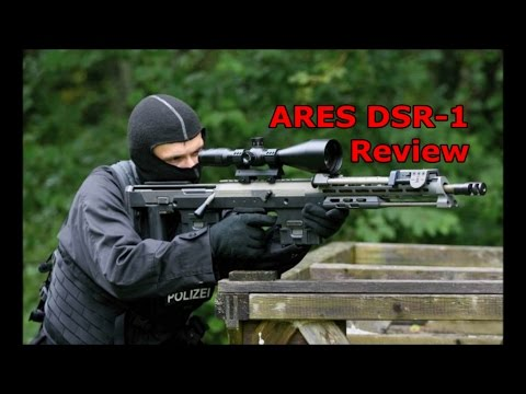 DICE Airsoft: ARES DSR-1 Test