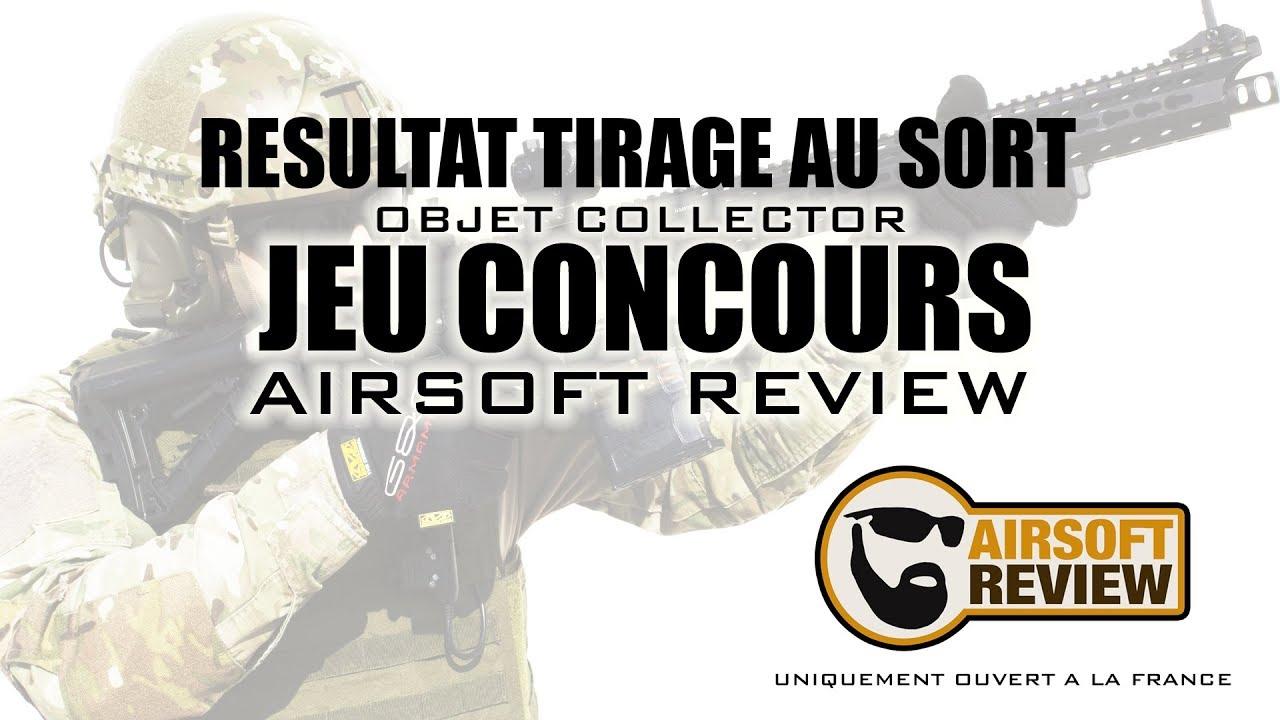 JEU CONCOURS TIRAGE AU SORT # AIRSOFT REVIEW