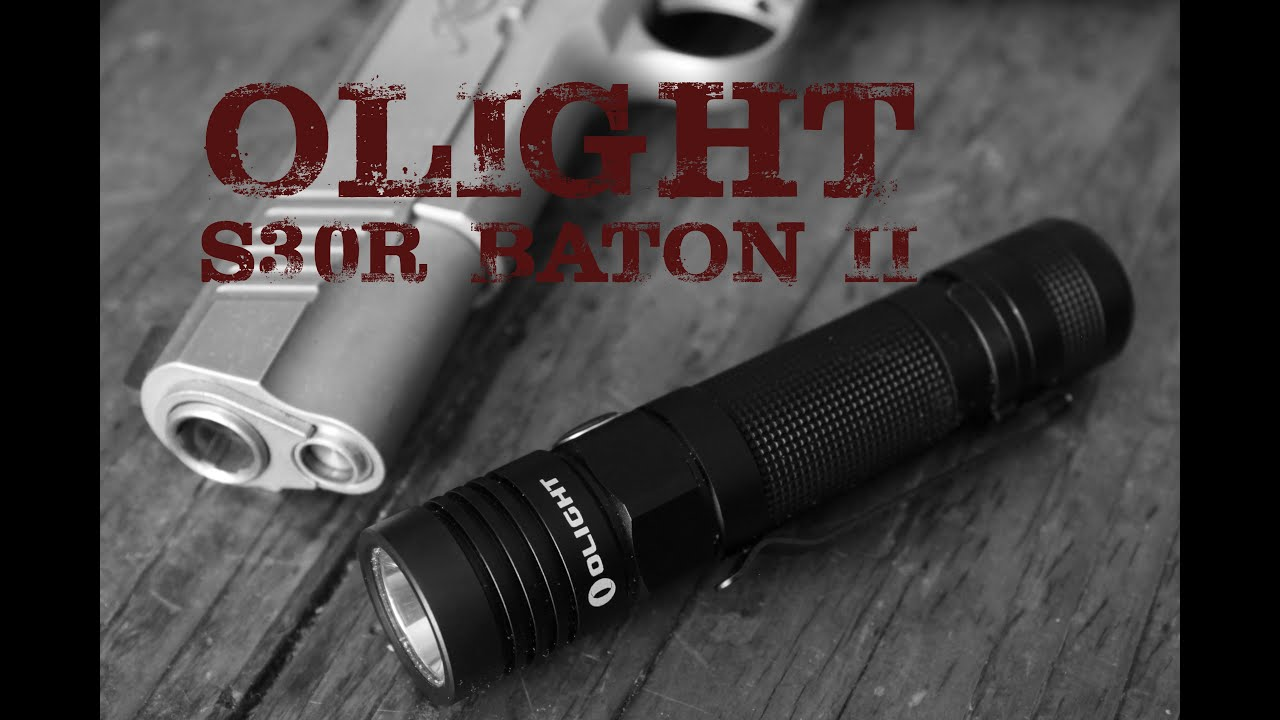 AIRSOFT | REVIEW | À confirmer | Lampe de poche Olight S30R Baton II (ENGLISH SUBS)