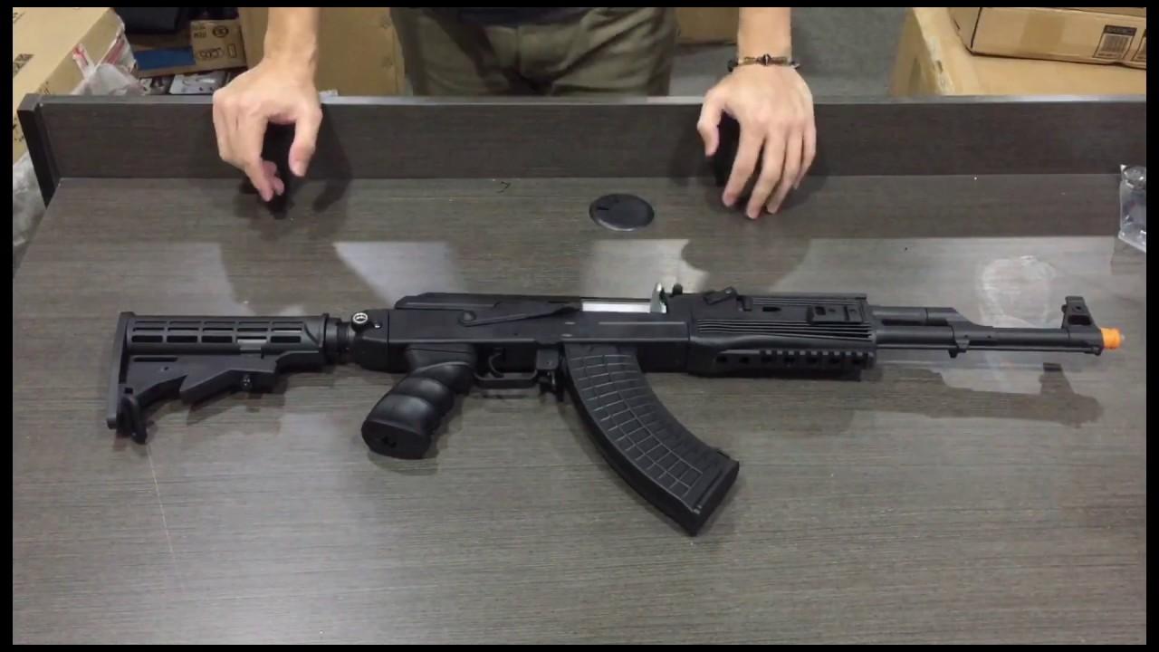 JM AK47 J11 – AK tactique (déballage, révision et test du FPS) – Blasters Mania