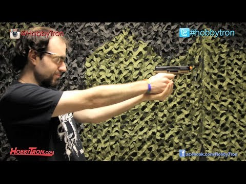 Test du pistolet CO2 Airsoft Smith & Wesson M & P40