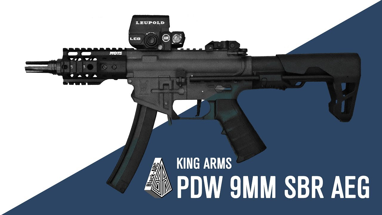 PDW AEG de King Arms | Black_Arc Airsoft |