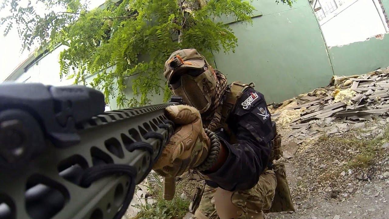 Vidéo de gameplay d'assaut d'airsoft – Krytac LVOA C