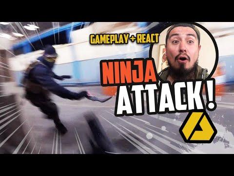 Réagir à l'attaque d'un NINJA | Exol CQB Airsoft Gameplay + React