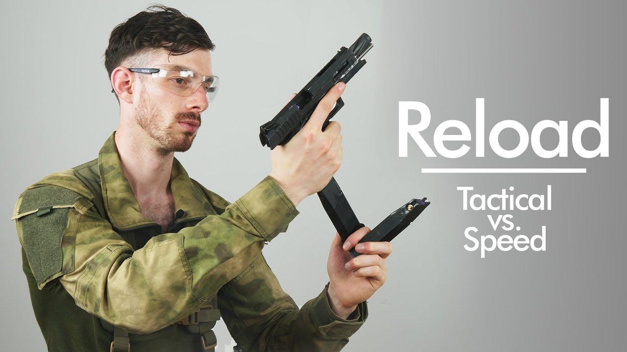 Comment recharger la vitesse / tactique dans Airsoft