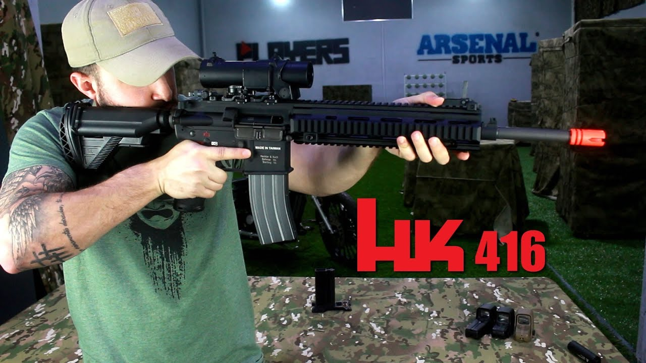 AIRSOFT | HK 416 VFC | M4 REMPLACEMENT?
