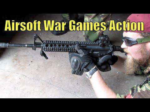 Airsoft War Games Action CQB au Royaume-Uni