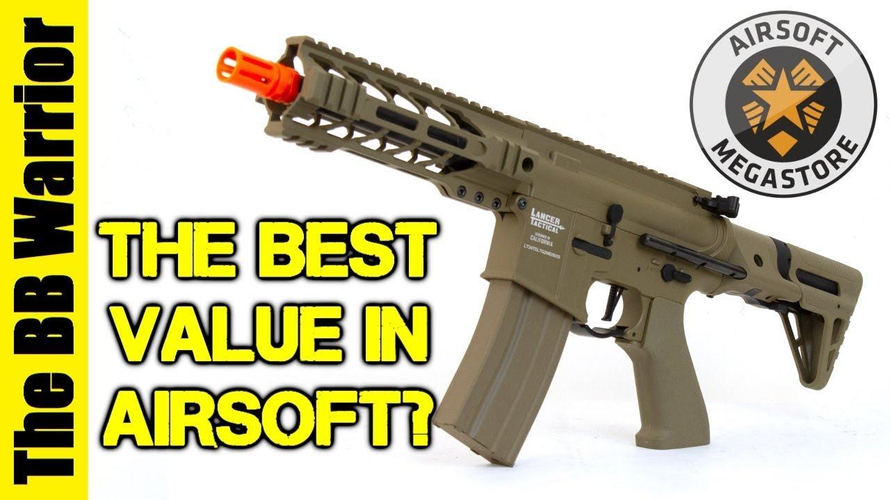 Le meilleur pistolet Airsoft? Lancer tactique Battlehawk PDW examen