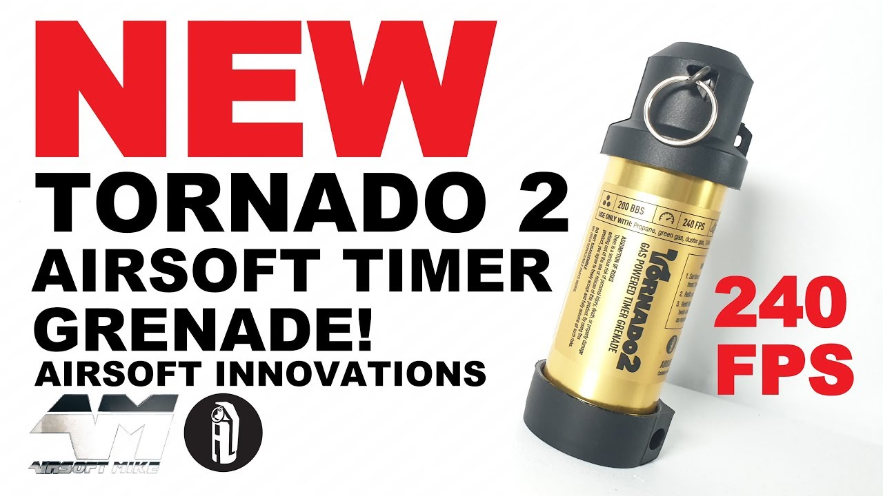 AIRSOFT INNOVATIONS TORNADO 2 / Airsoft Unboxing