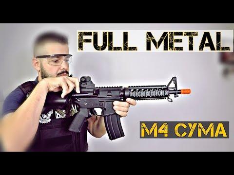 M4 PLEIN MÉTAL CYMA CM002 AEG | Airsoft Review | FBAIRSOFT