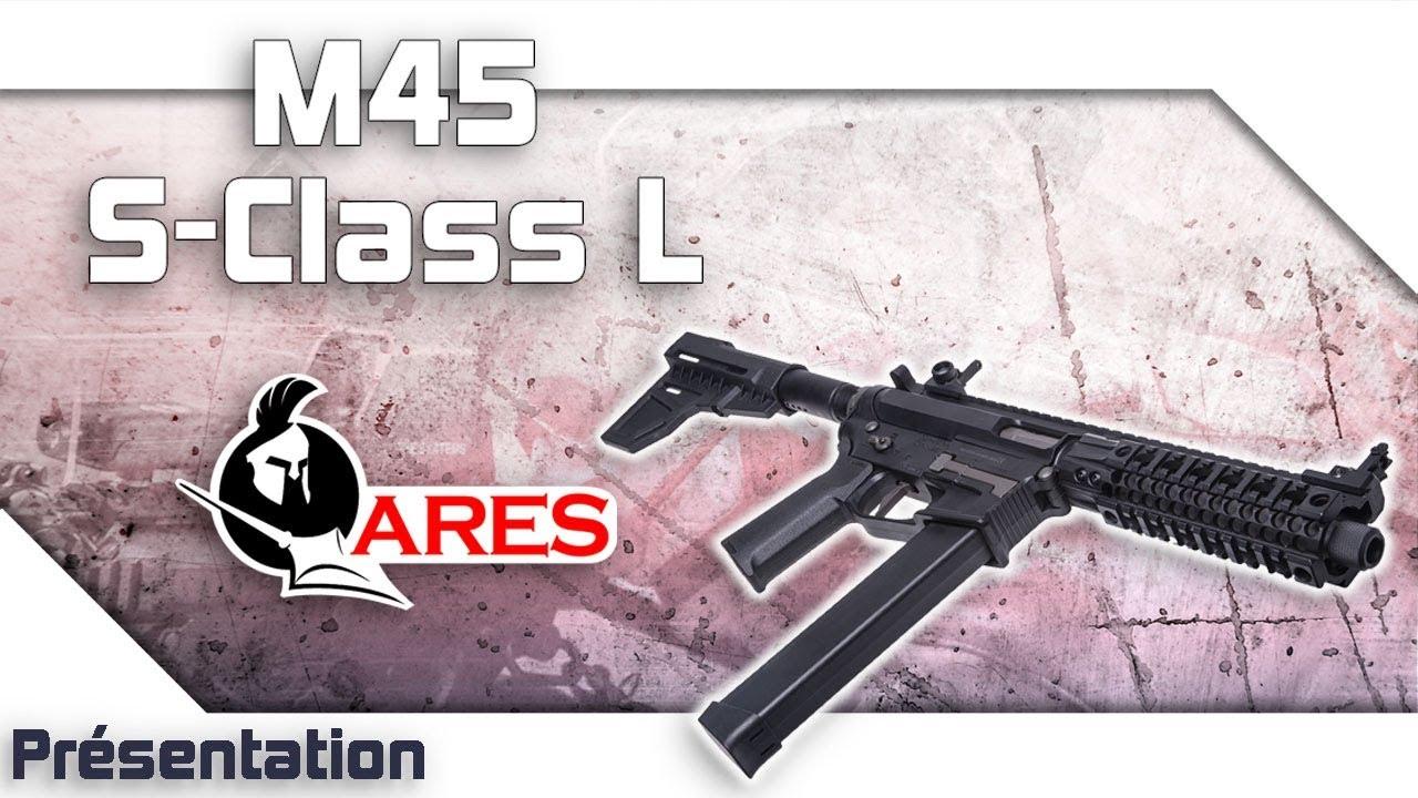 [M45 S-Class L – Ares] Présentation | Review | Airsoft FR – EN subs