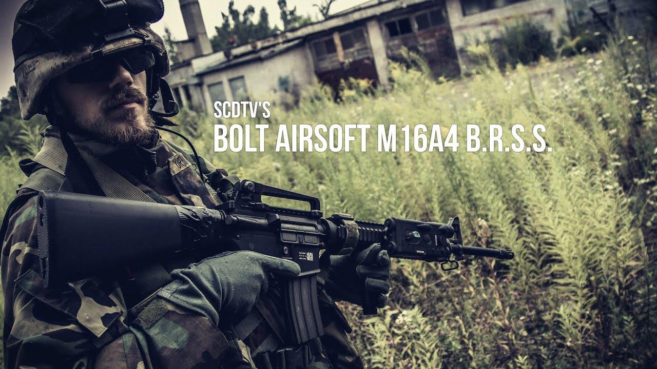 SCDTV BOLT AIRSOFT M16A4 BRSS AIRSOFT – RÉVISION