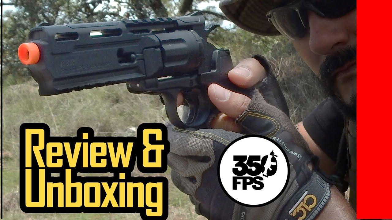 Existe-t-il des armes Airsoft bon marché? Ce revolver de Airsoft – Review and Unboxing