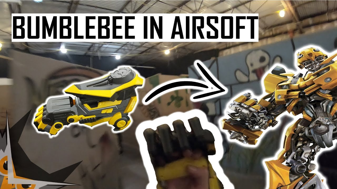 BUMBLEBEE À AIRSOFT | ASP MAX POWER REVIEW PARTIE 2