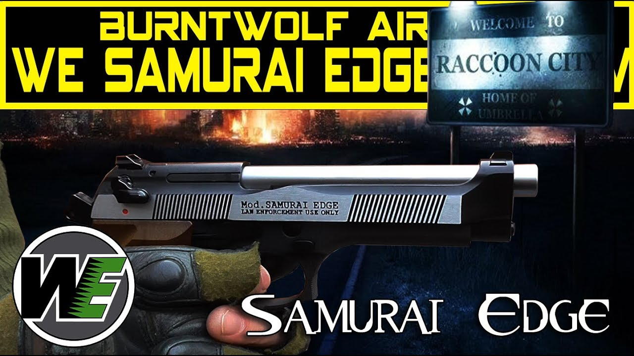 Airsoft WE Samuria Edge Review