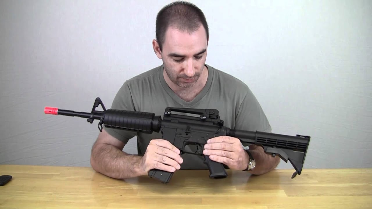 Airsoft Review Well M4 Gaz Blowback