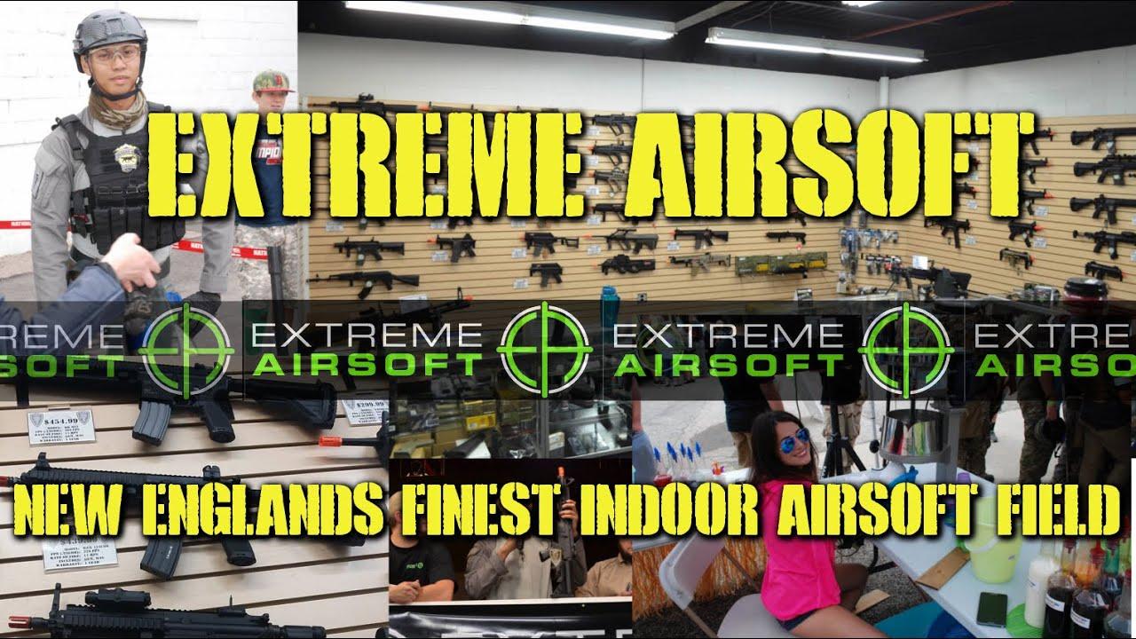DesertFox Airsoft: Extreme Airsoft Rhode Island (Le plus beau terrain couvert de Nouvelle-Angleterre)