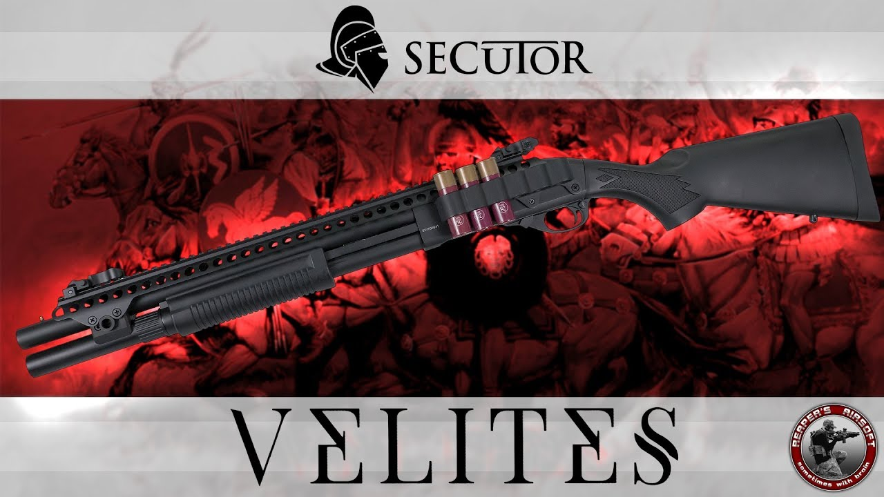 [Review] Secutor Velites G-XI et G-III (démontage inclus) – Test Airsoft / Softair 6mm – 4K UHD